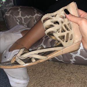 Sam Edelman Suede Strappy Sandals